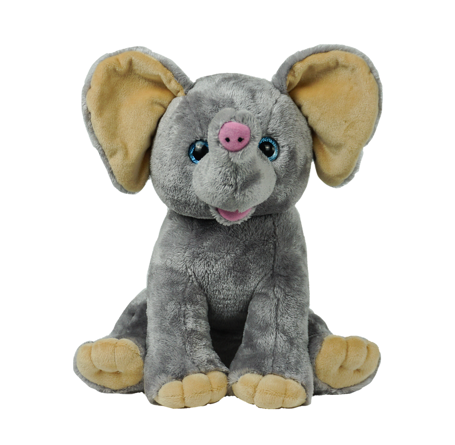 15 Inch Recordable Plush Elephant (New Style)