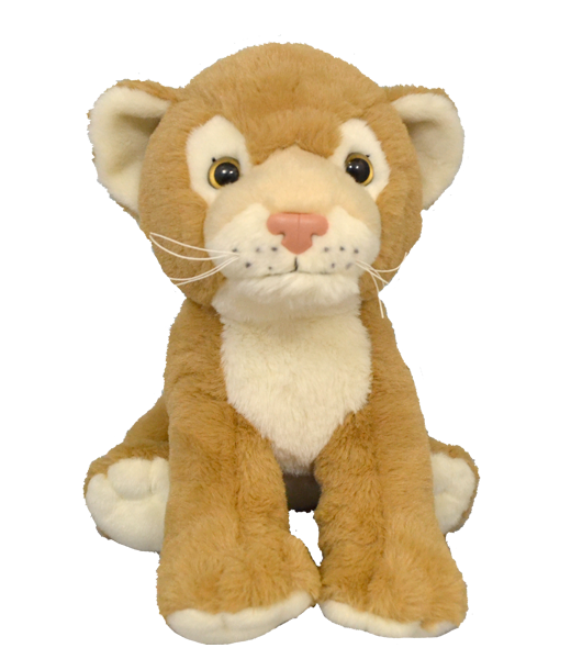 15 Inch Plush Lion Cub Unstuffed Animal Kit