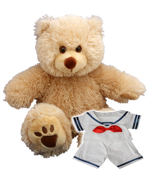 NAVY Recordable Talking 15 inch bear