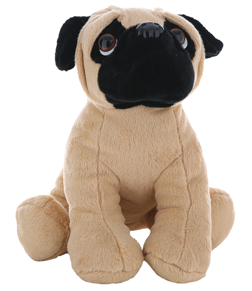 15 Inch Recorable Pug dog