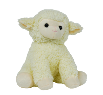 15 Inch Recordable Lamb with 30 second digital recorder (new style)
