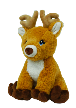 8 Inch Recordable Reindeer with 30 second digital recorder