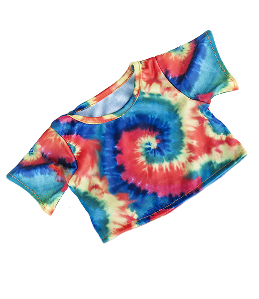 Tie Dye teddy bear t-shirt for 14