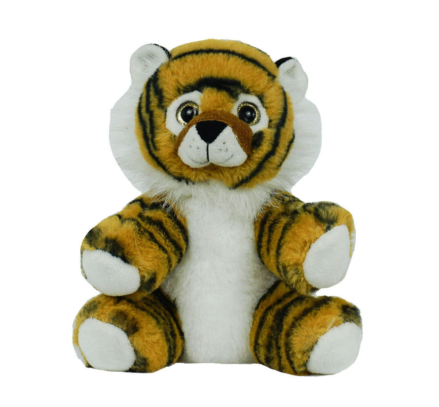 8 Inch Recordable Tiger with 30 second digital recorder