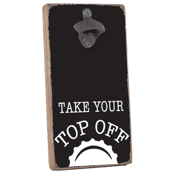 TOP OFF BOTTLE OPENER