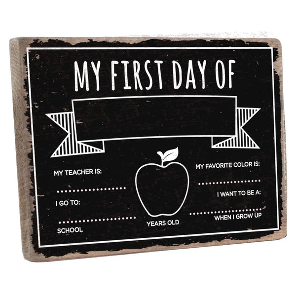 APPLE FIRST DAY CHALKBOARD - CityBarnCountryPenthouse