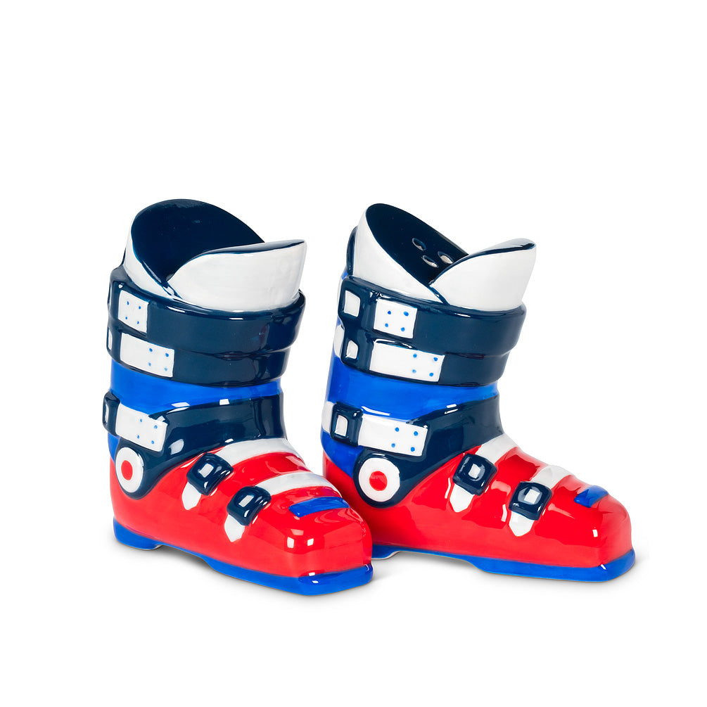 Ski Boots Salt & Pepper - CityBarnCountryPenthouse