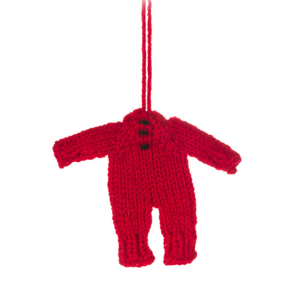 Knit Longjohn Ornament - CityBarnCountryPenthouse