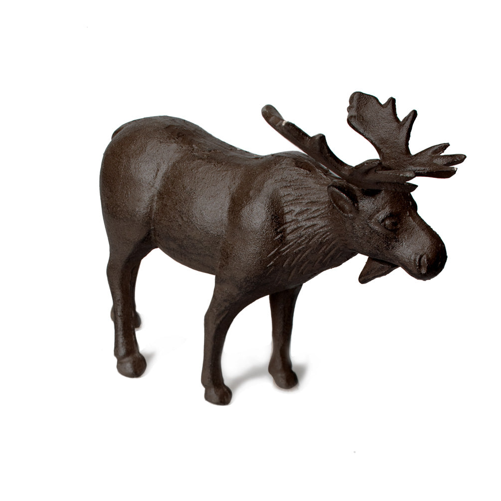 Standing Moose - cast iron - CityBarnCountryPenthouse