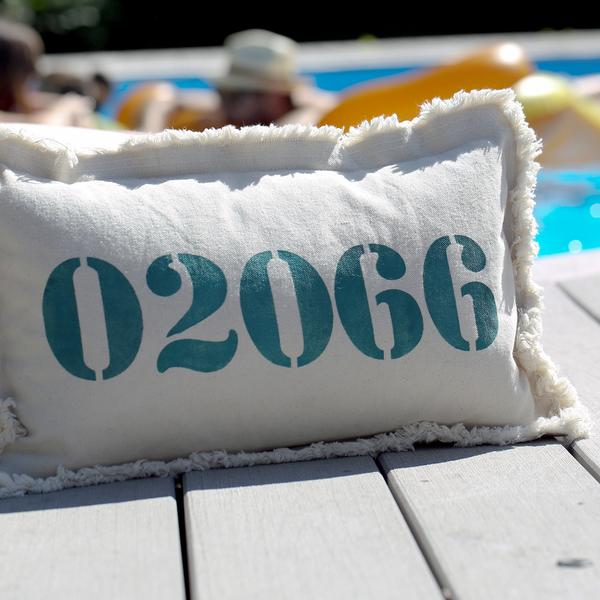 ZIP Code Pillow - Personalize it! - CityBarnCountryPenthouse