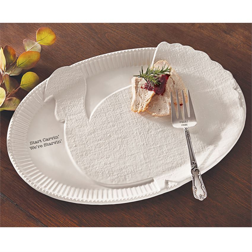 TURKEY SERVING PLATTER - CityBarnCountryPenthouse