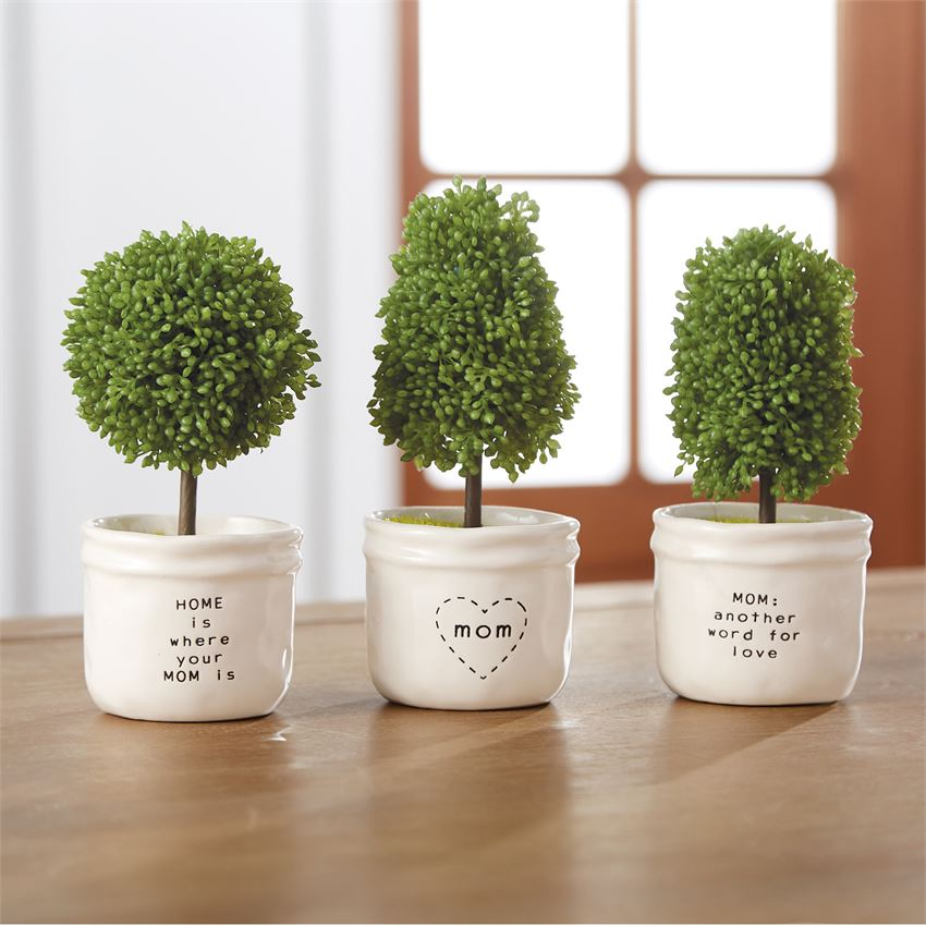 Mom Pot Artificial Topiary - CityBarnCountryPenthouse
