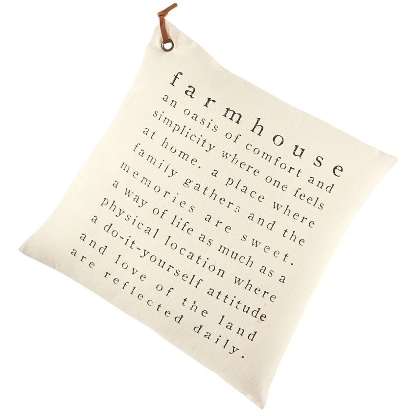 FARMHOUSE DEFINITION PILLOW