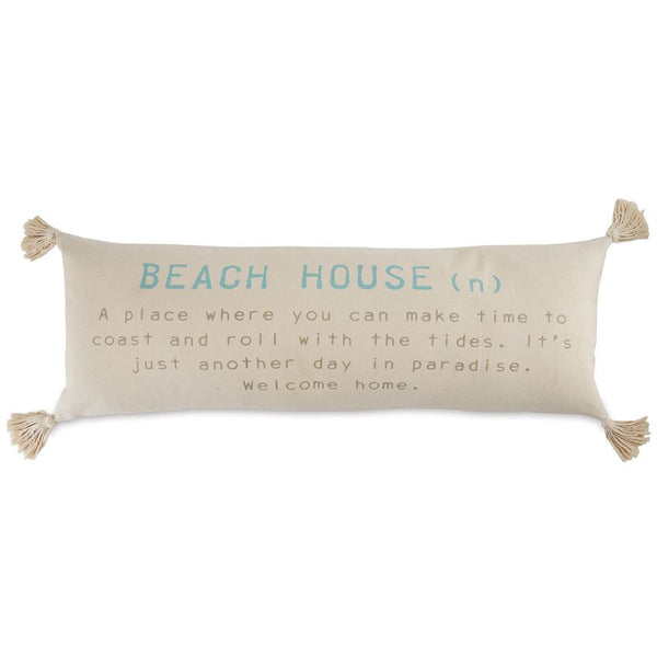 BEACH HOUSE DEFINITION PILLOW - CityBarnCountryPenthouse