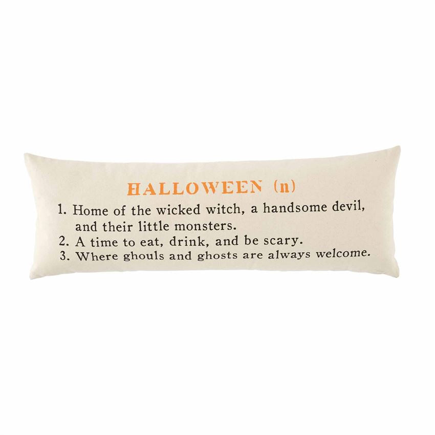 HALLOWEEN DEFINITION PILLOW - CityBarnCountryPenthouse