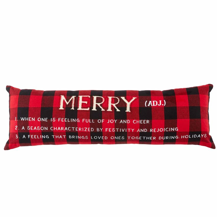 Merry Definition Pillow - CityBarnCountryPenthouse