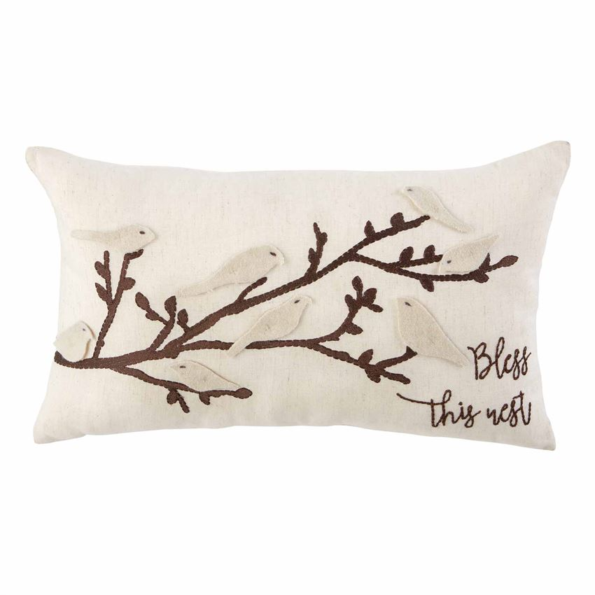 Flutter Bird Pillow - CityBarnCountryPenthouse