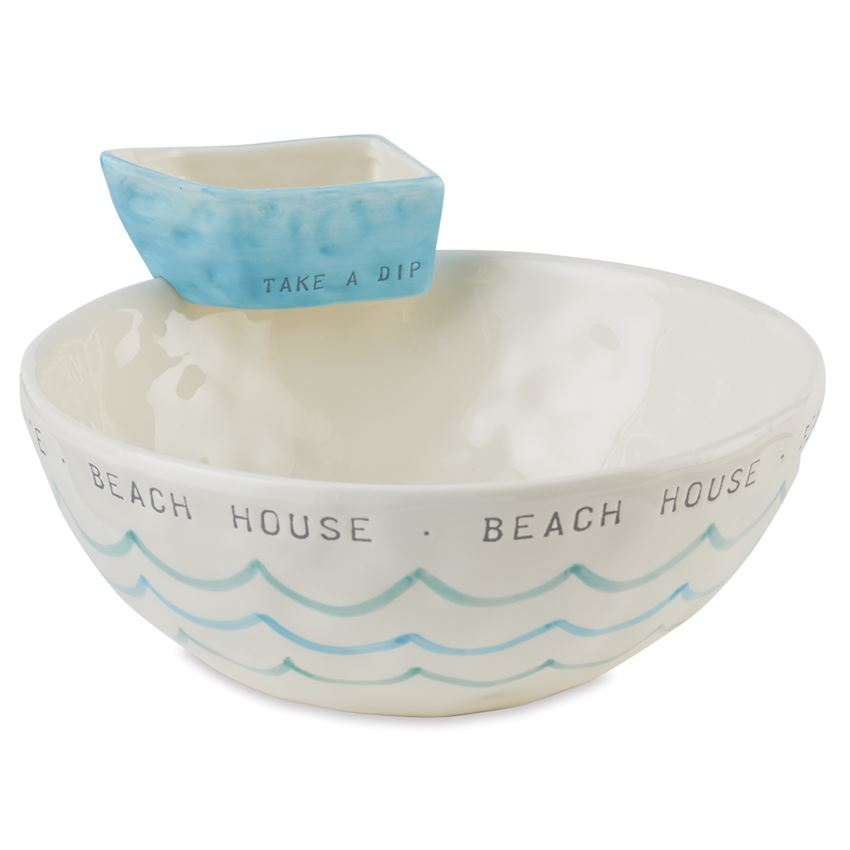 BEACH STACKED CHIP & DIP SET