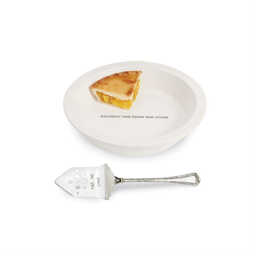 Circa Pie Plate With Server - CityBarnCountryPenthouse