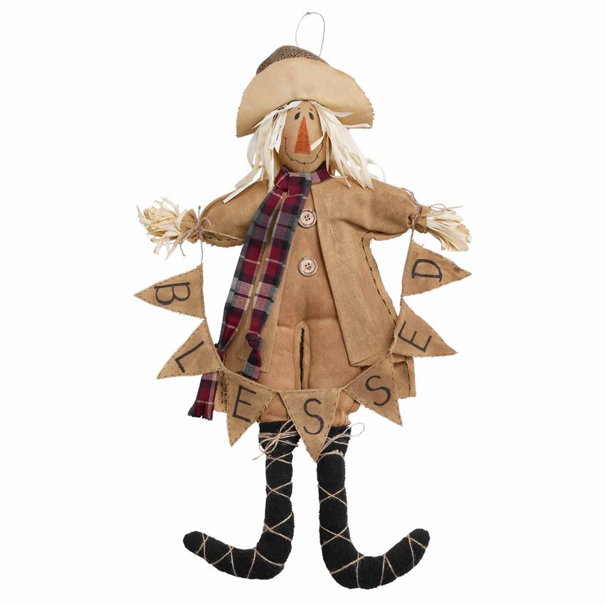 Large Scarecrow Doll - CityBarnCountryPenthouse