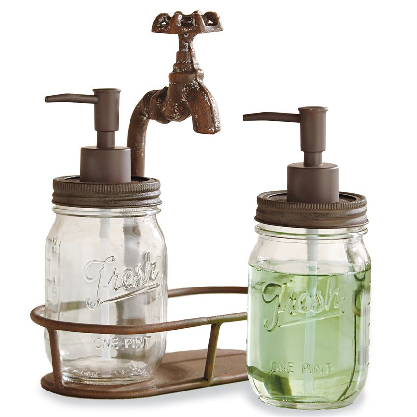 WATER SPOUT SOAP PUMP SET - CityBarnCountryPenthouse
