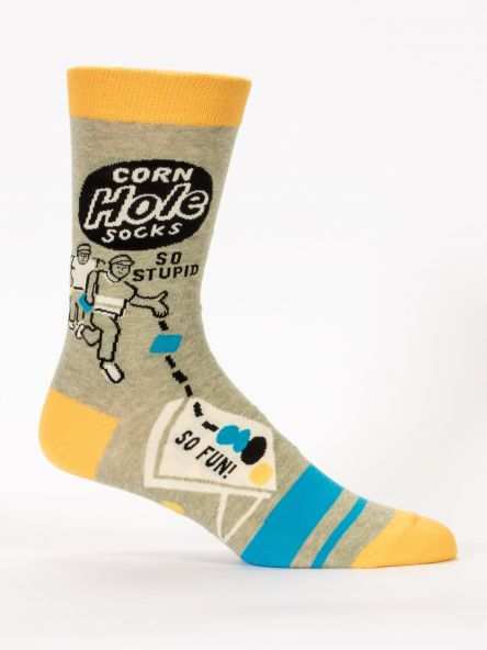 CORN HOLE M-CREW SOCKS - CityBarnCountryPenthouse