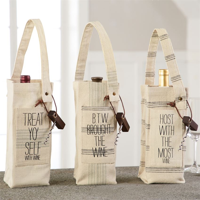 TREAT Grainsack wine bag - CityBarnCountryPenthouse