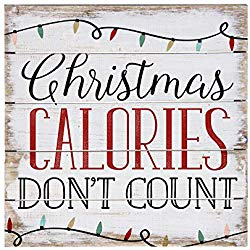Christmas Calories 8x8 - CityBarnCountryPenthouse