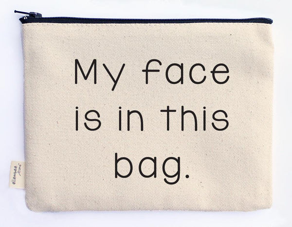 MY FACE POUCH - CityBarnCountryPenthouse