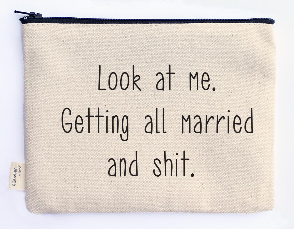 MARRIED AND SHIT POUCH