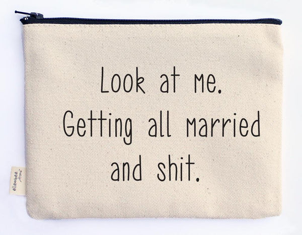 MARRIED AND SHIT POUCH - CityBarnCountryPenthouse
