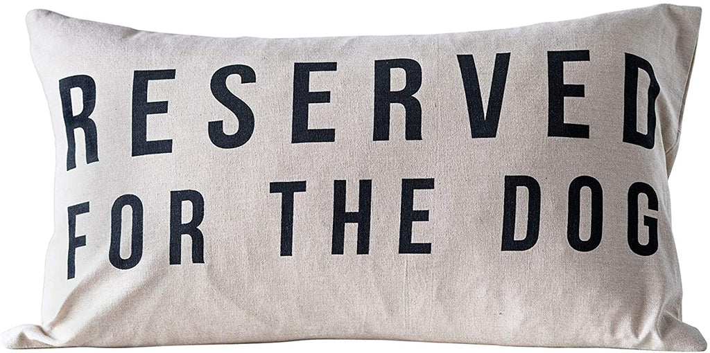 Reserved For The Dog Pillow - City Barn | Country Penthouse