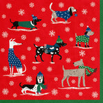 Luncheon Winter Pack Dog Napkins - 20 pk - CityBarnCountryPenthouse