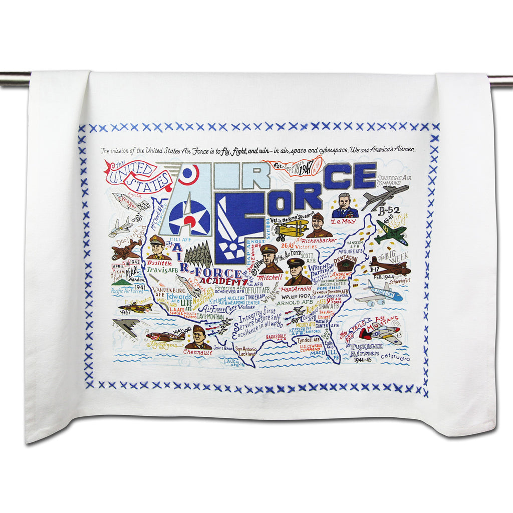 AIR FORCE DISH TOWEL - CityBarnCountryPenthouse