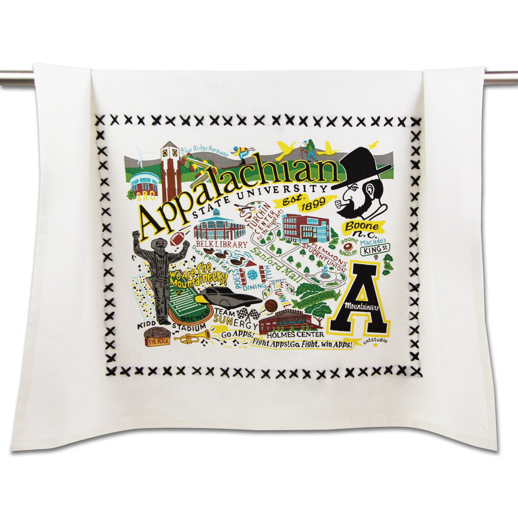 Appalachian State University Dish Towel - CityBarnCountryPenthouse