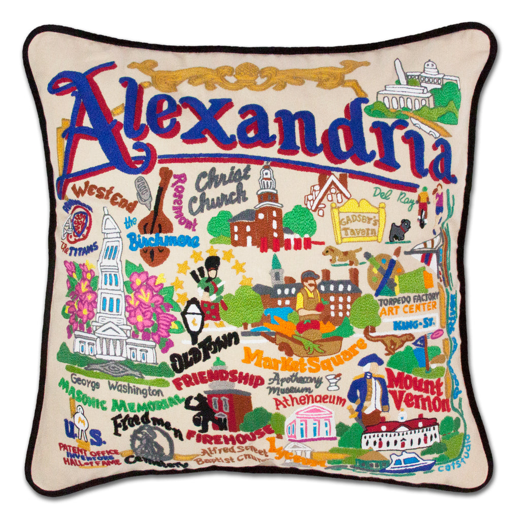 Alexandria Pillow - CityBarnCountryPenthouse