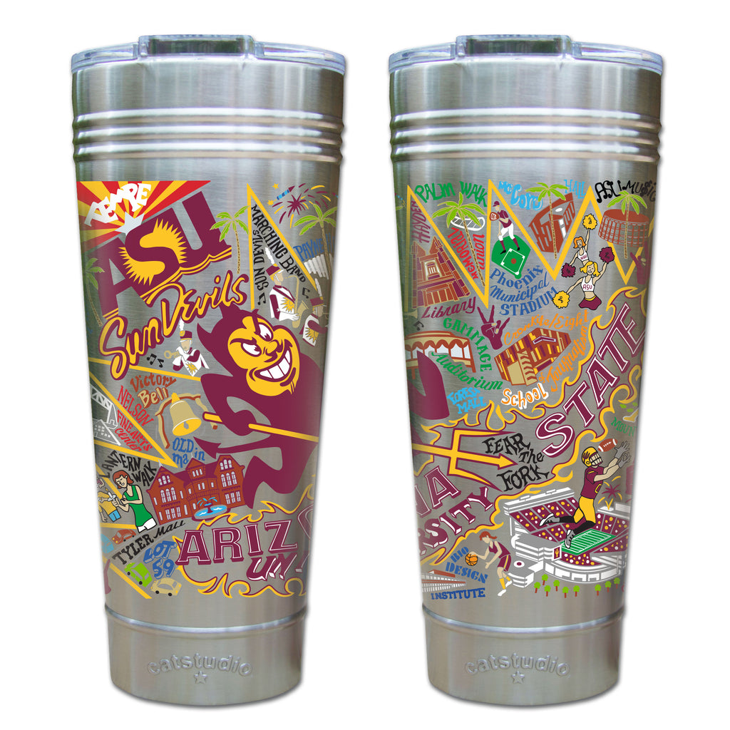Arizona State University Thermal Tumbler - CityBarnCountryPenthouse