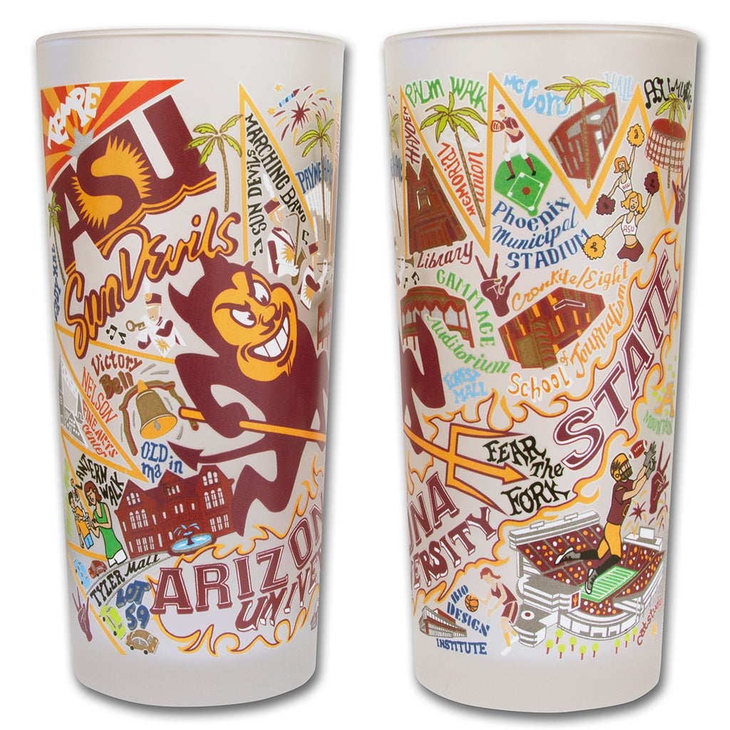 Arizona State University Drinking Glasses - Set of 4