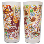 Arizona State University Drinking Glasses - Set Of 4 - CityBarnCountryPenthouse