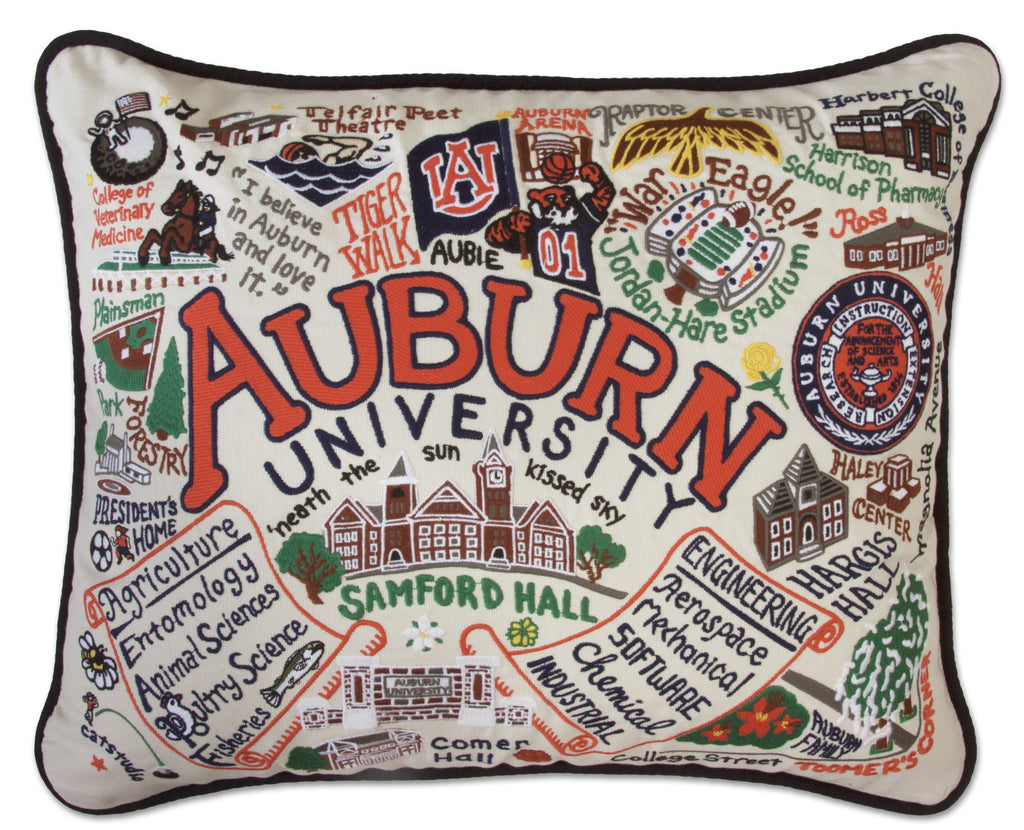 AUBURN UNIVERSITY PILLOW - CityBarnCountryPenthouse