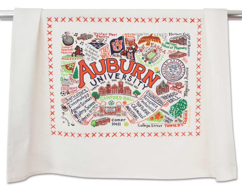 Auburn University Dish Towel - CityBarnCountryPenthouse