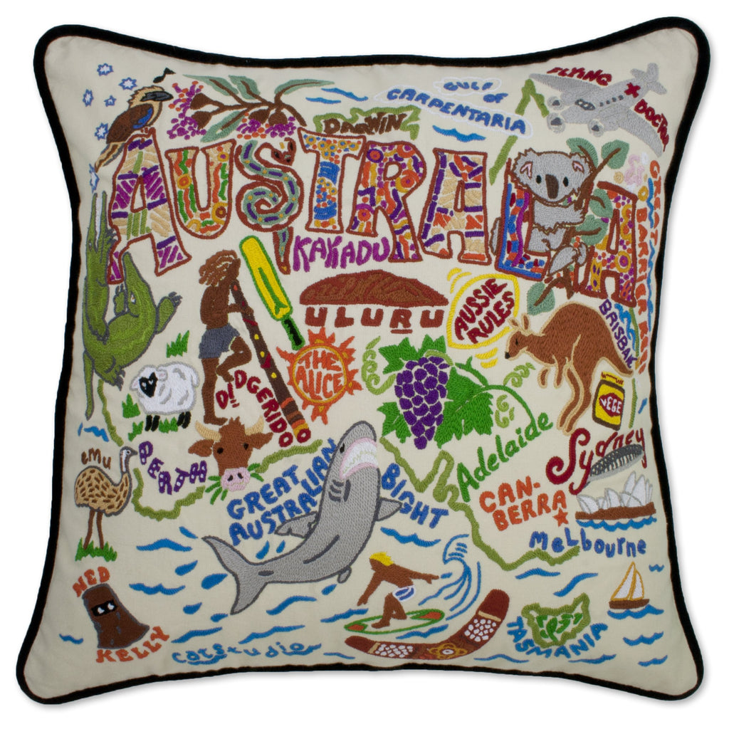 Australia Pillow - CityBarnCountryPenthouse
