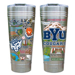 Brigham Young University ( BYU) Thermal Tumbler - CityBarnCountryPenthouse