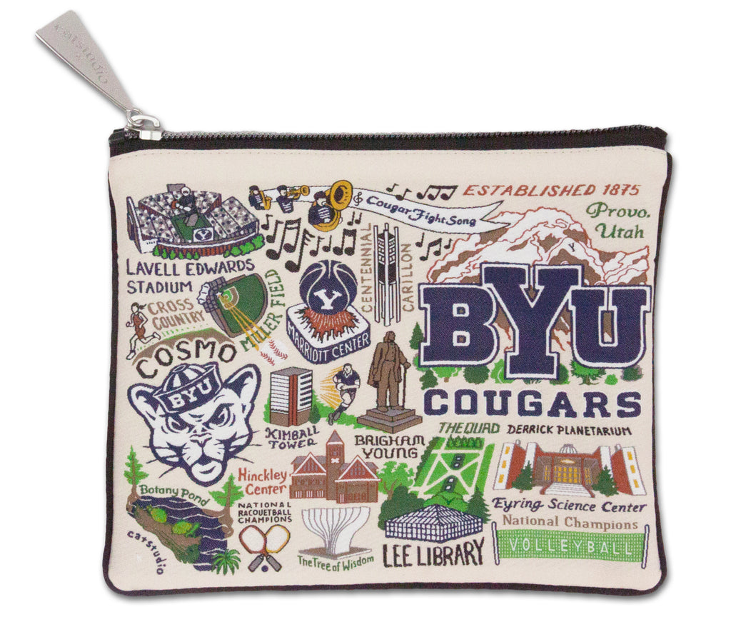 BRIGHAM YOUNG UNIVERSITY (BYU) POUCH