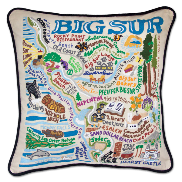 Big Sur Pillow - CityBarnCountryPenthouse