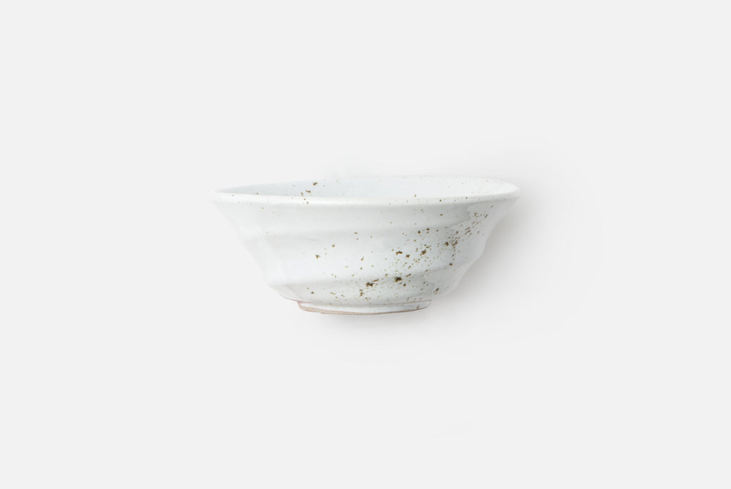MARCUS, White Salt Glaze Cereal/Ice Cream Bowl - CityBarnCountryPenthouse