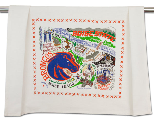 Boise State Collegiate Dish Towel - CityBarnCountryPenthouse