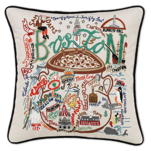 Boston Pillow - CityBarnCountryPenthouse