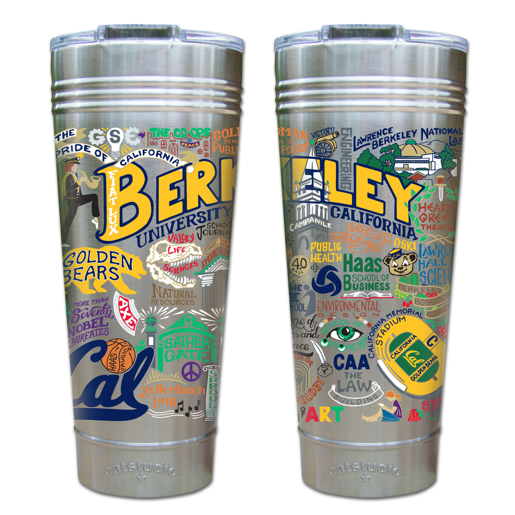 CAL Berkeley Thermal Tumbler - CityBarnCountryPenthouse