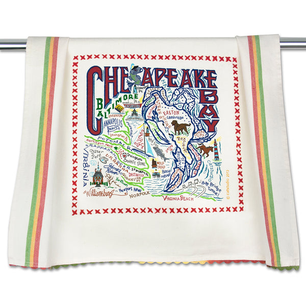 Chesapeake Bay Dish Towel - CityBarnCountryPenthouse